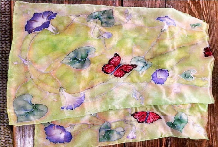 *SOLD*'BUTTERFLIES ARE FREE' BY SUSAN WEBER