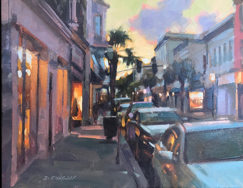 """CHARLESTON AT DUSK"" BY DESMOND O'HAGAN"
