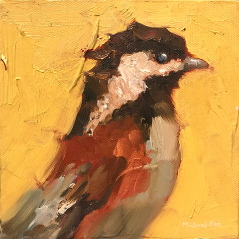 *SOLD* 'CHICK-CHICK-A-DEE' BY MICHAEL-CHE SWISHER