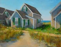 'COTTAGES' BY SNEFRID SNEVE-SHULTZE