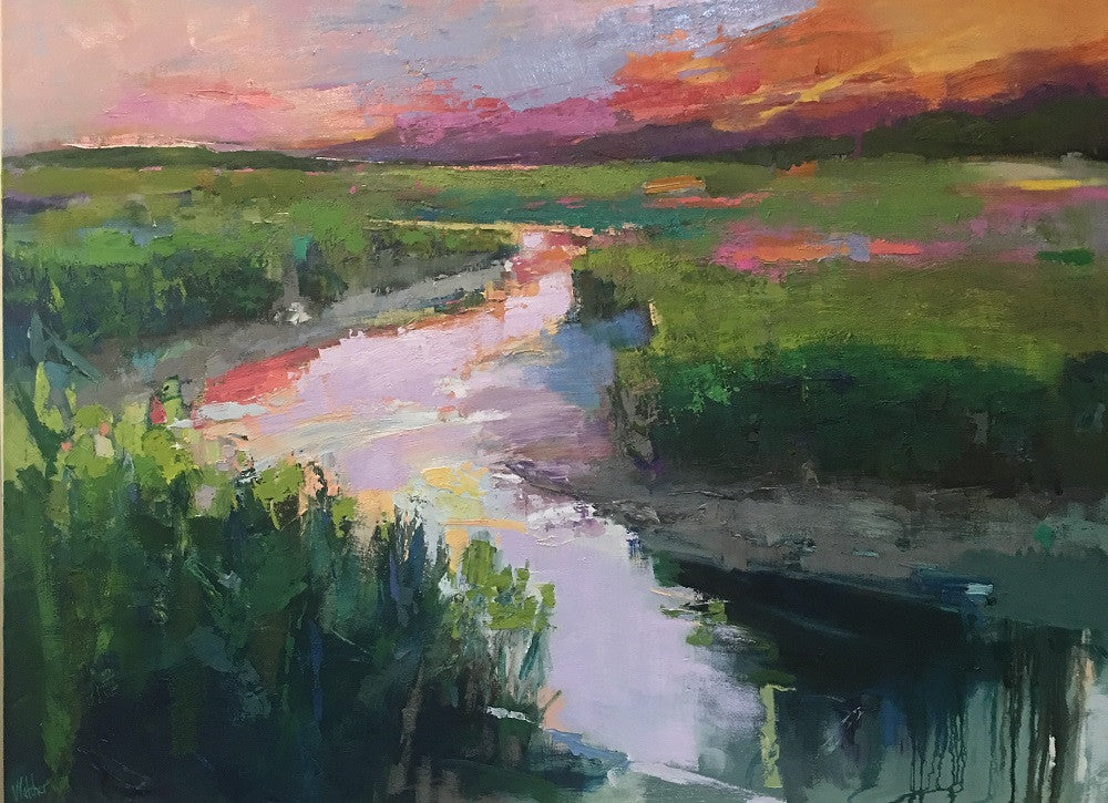 *SOLD* 'LOW COUNTRY CALM' BY ANN WATCHER