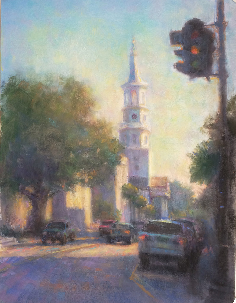"*SOLD* ""CHARLESTON AFTERNOON"" BY VIANNA SZABO"