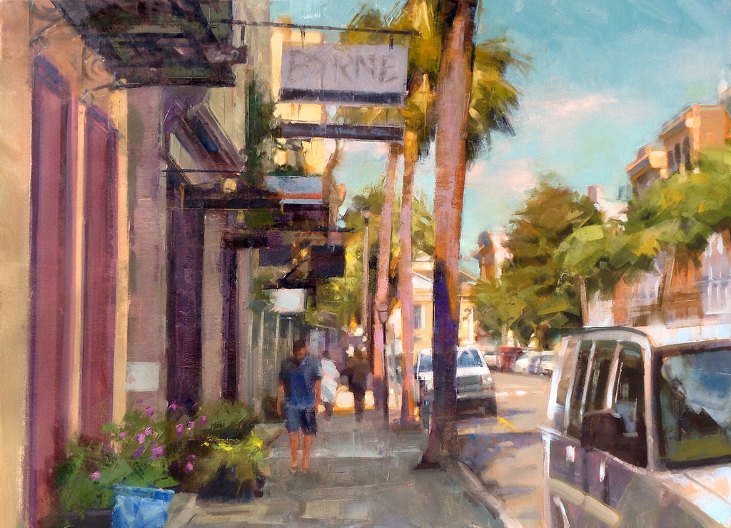 July Afternoon Charleston By Desmond Ohagan Cecil Byrne Gallery
