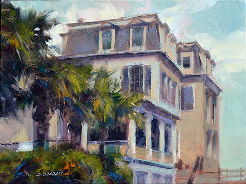 """COASTAL VIEW, CHARLESTON"" BY DESMOND O'HAGAN"
