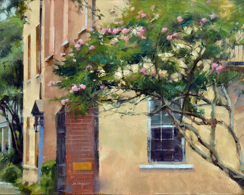 'CREPE MYRTLE, CHARLESTON' BY DESMOND O'HAGAN