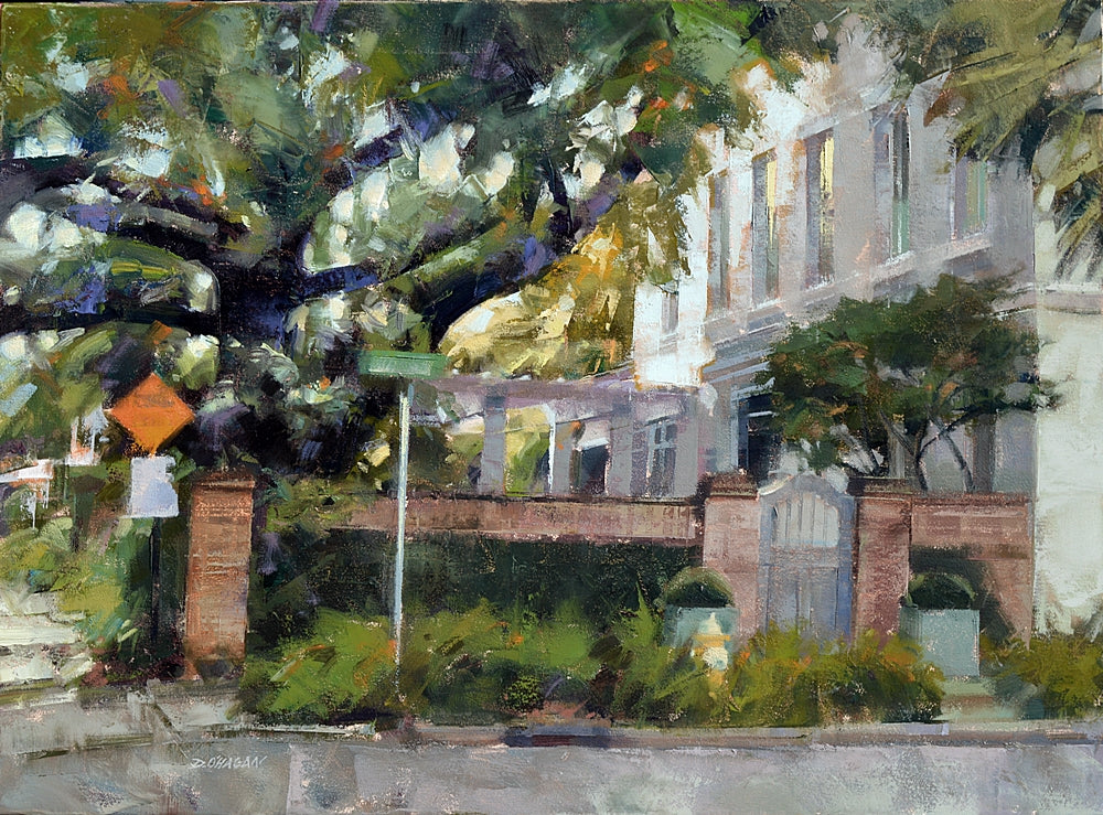 """EAST BAY STREET, CHARLESTON"" BY DESMOND O'HAGAN"