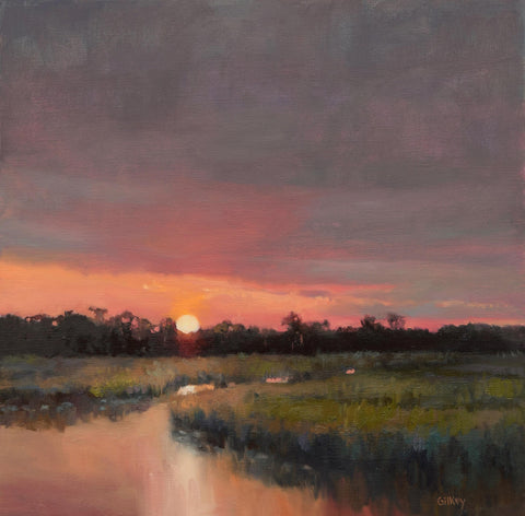 'EDISTO SUNSET' BY SUE GILKEY