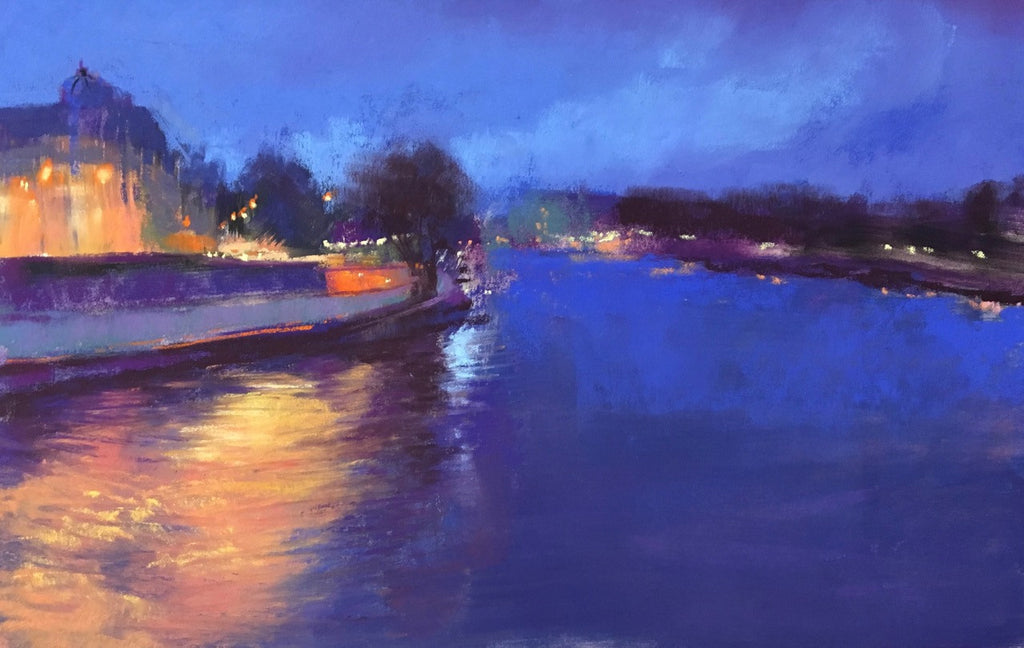 'EVENING ON THE SEINE' BY JEANNE ROSIER SMITH
