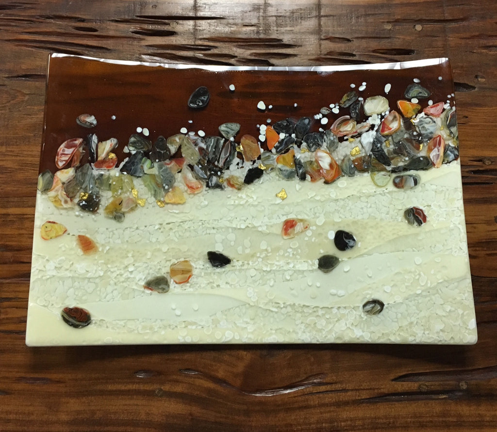 *SOLD* 'COASTAL BEAUTY PLATTER' BY FLO ULRICH