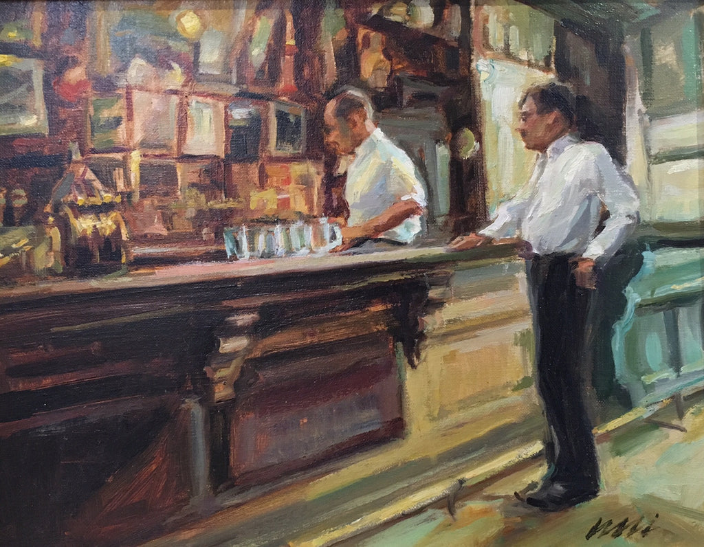 'AT THE BAR' BY ELI CEDRONE