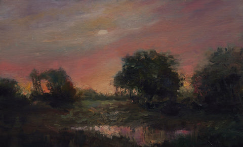 'HAZY SUNSET' BY SUE GILKEY