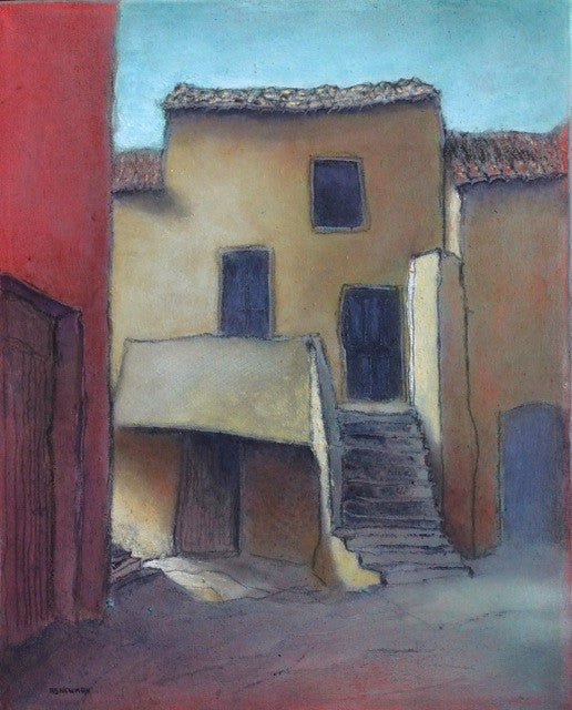 'HOUSE WITH STAIRS (ST. PONS)' BY ANDY NEWMAN