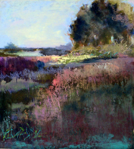 *SOLD*'MARSH CONTEMPLATION' BY EVE MILLER