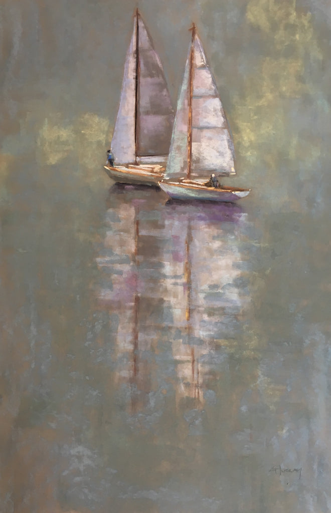 'TRANQUIL WATERS I' BY CECILIA MURRAY