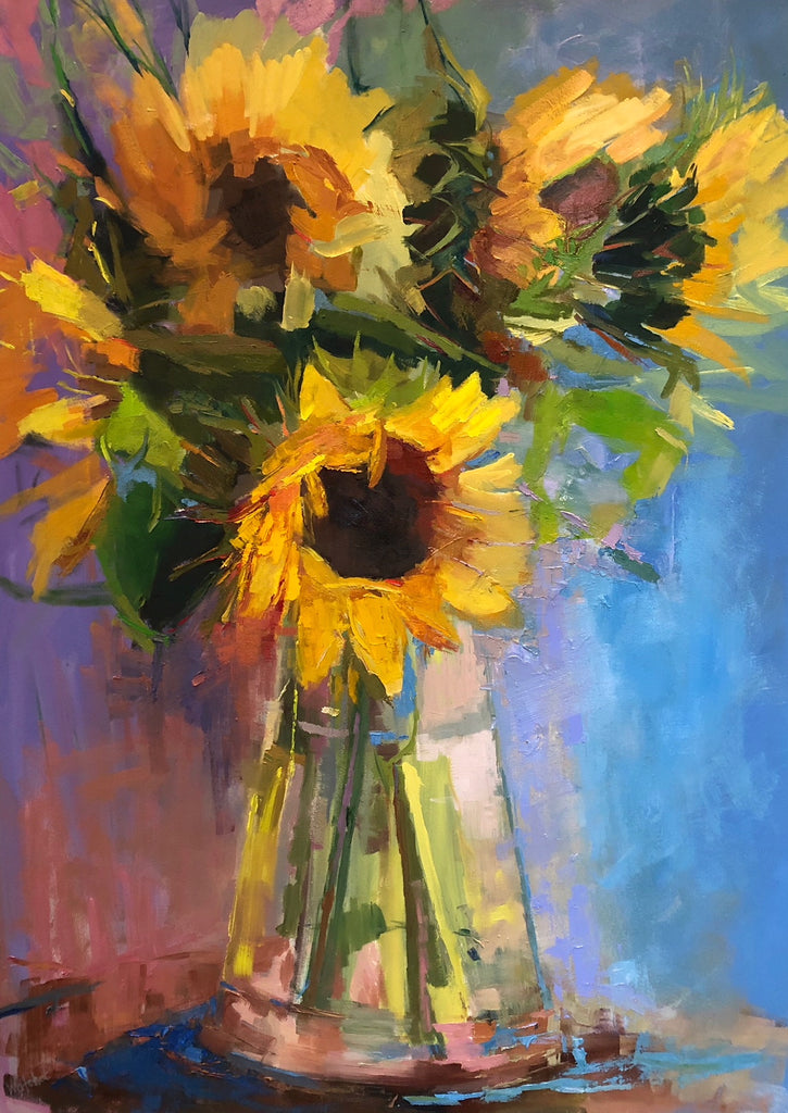 *SOLD* 'SUNBURST' BY ANN WATCHER
