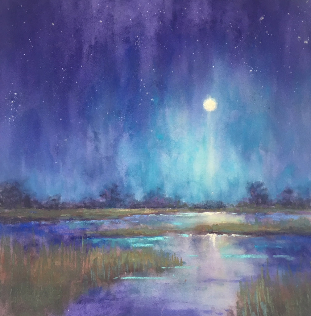*SOLD* 'Low Country Nocturne' by Cecilia Murray