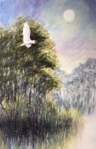 'MOONRISE OVER EDISTO' BY CECILIA MURRAY