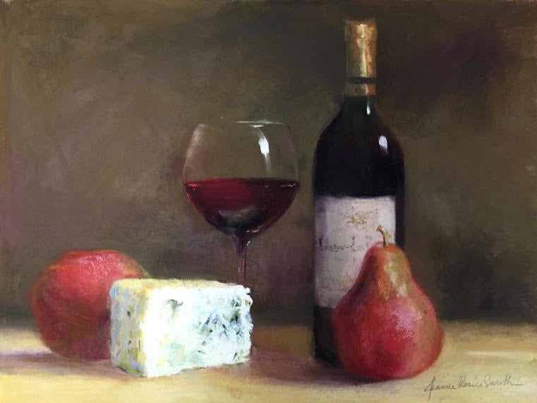 "*SOLD* ""I'LL HAVE THE RED"" BY JEANNE ROSIER SMITH"