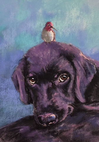 *SOLD* 'LOVE IS A MANY FEATHERED THING' BY CECILIA MURRAY