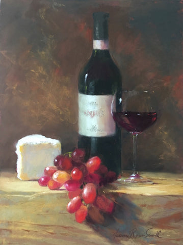"*SOLD* ""LATE AFTERNOON REPAST"" BY JEANNE ROSIER SMITH"