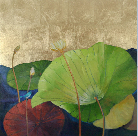 *SOLD* 'LOTUS 2' BY ELLEN GRANTER