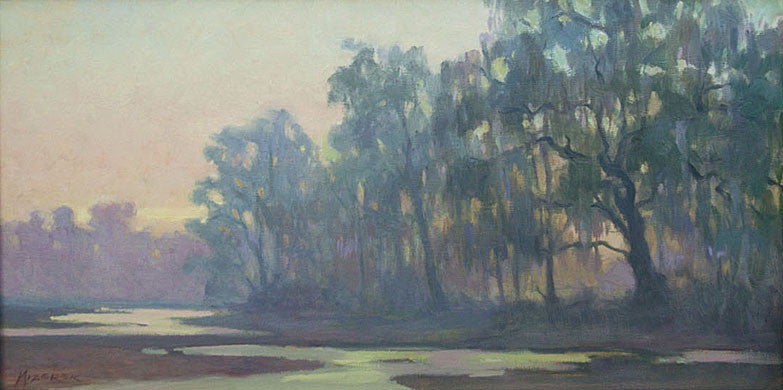 'LOW COUNTRY MARSH' BY LEONARD MIZEREK
