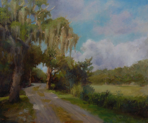 *SOLD*'LOW COUNTRY ROAD' BY SUE GILKEY