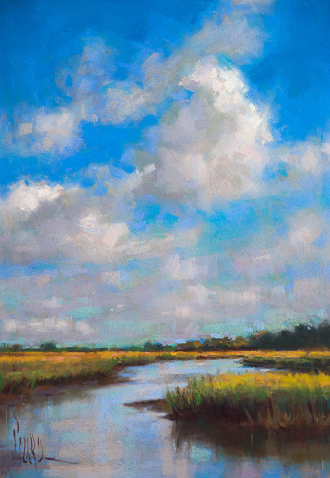 *SOLD*'LOW COUNTRY BLUES' BY ALAIN PICARD