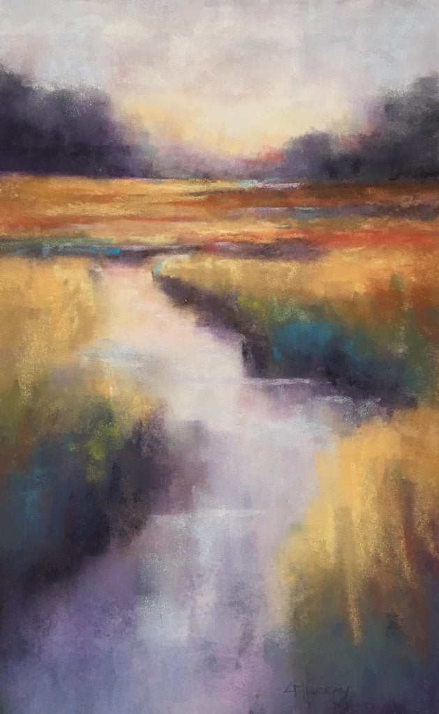 *SOLD* 'MARSH REFLECTIONS' BY CECILIA MURRAY