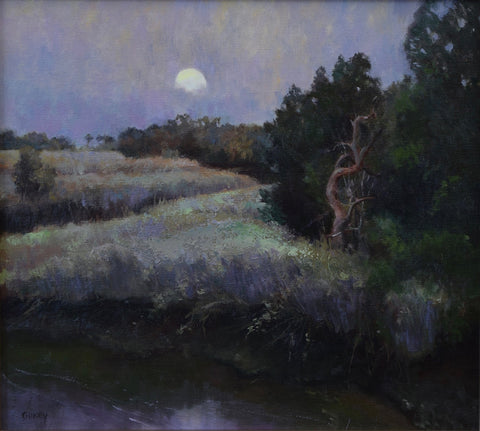 """MOON RISE"" BY SUE GILKEY"