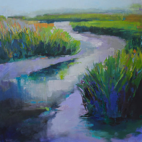 SOLD. 'MEMORY OF THE MARSH' BY ANN WATCHER