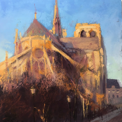 'MORNING LIGHT AT NOTRE DAME' BY JEANNE ROSIER SMITH