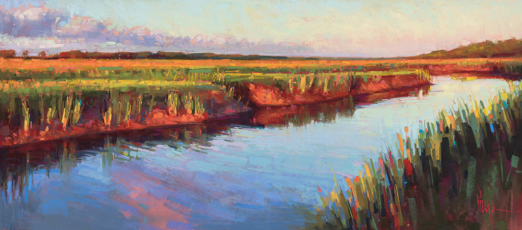 'TIDAL CREEK REFLECTIONS' BY ALAIN PICARD