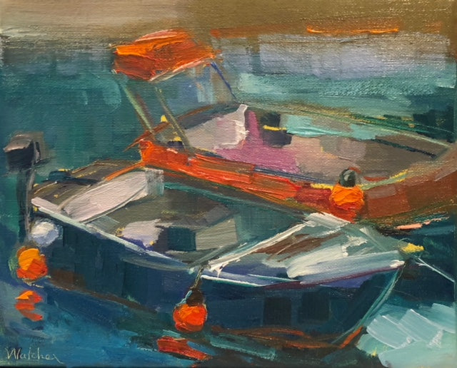 'MORNING TIDE II' BY ANN WATCHER