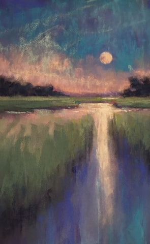 *SOLD* 'SOUTHERN MOON' BY CECILIA MURRAY