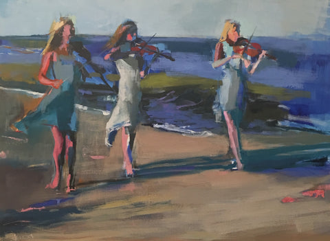 "*SOLD* ""MUSIC IN MOTION"" BY ANN WATCHER"