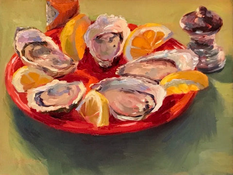 'JUICY OYSTERS' BY ROSALIE NADEAU