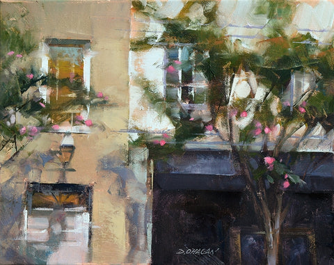"*SOLD* ""NEIGHBORS, CHARLESTON"" BY DESMOND O'HAGAN"