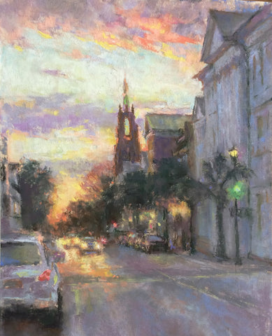 'NIGHT FALLS ON CHARLESTON' BY VIANNA SZABO