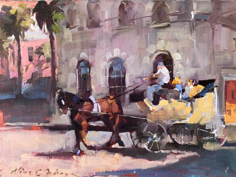 *SOLD* 'CHARLESTON CARRIAGE' BY ALINE ORDMAN