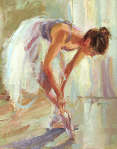 "*SOLD* ""POINTE SHOES"""