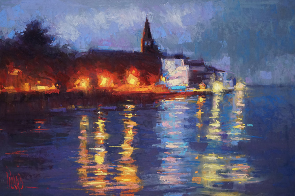 'HARBOR NOCTURNE' BY ALAIN PICARD