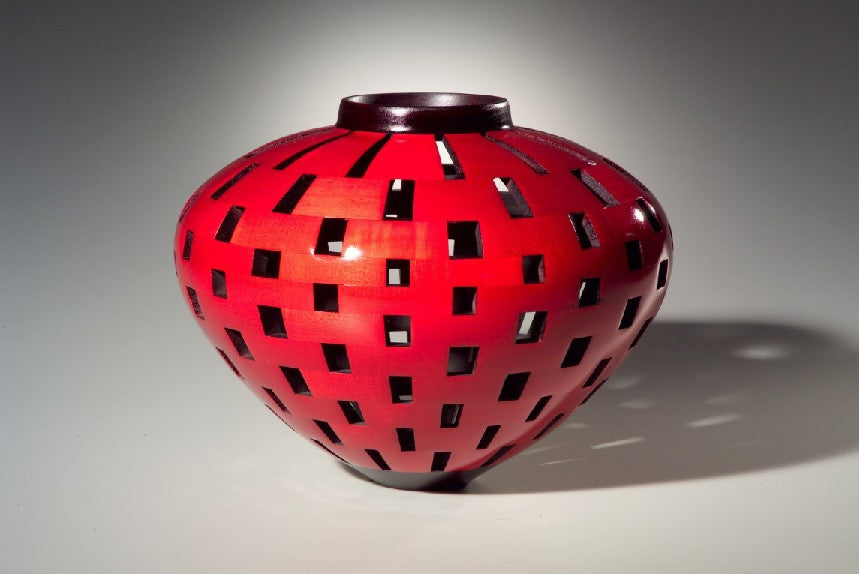 *SOLD* 'CRIMSON VESSEL' BY JOEL HUNNICUTT