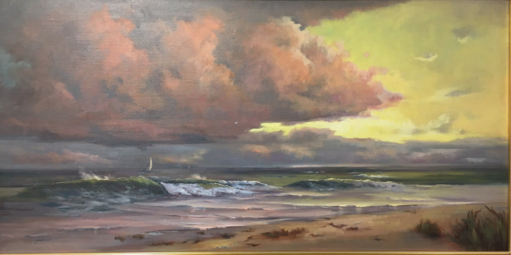 """STORM CLEARING"" BY MARY GARRISH"