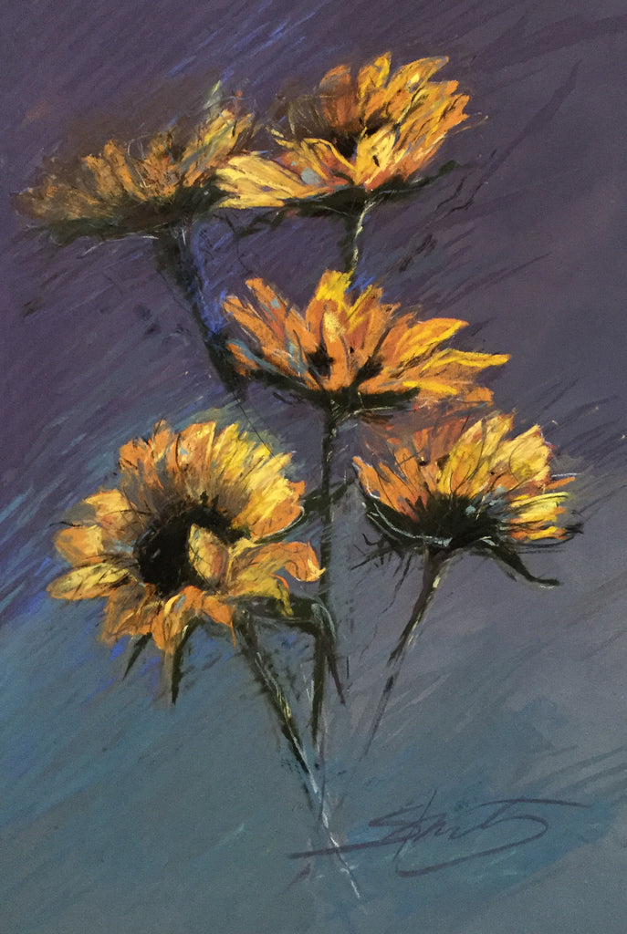 'SUNFLOWER RHAPSODY' BY ANNE STRUTZ