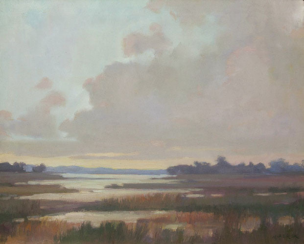 'SEAGRASS MARSH' BY LEONARD MIZEREK