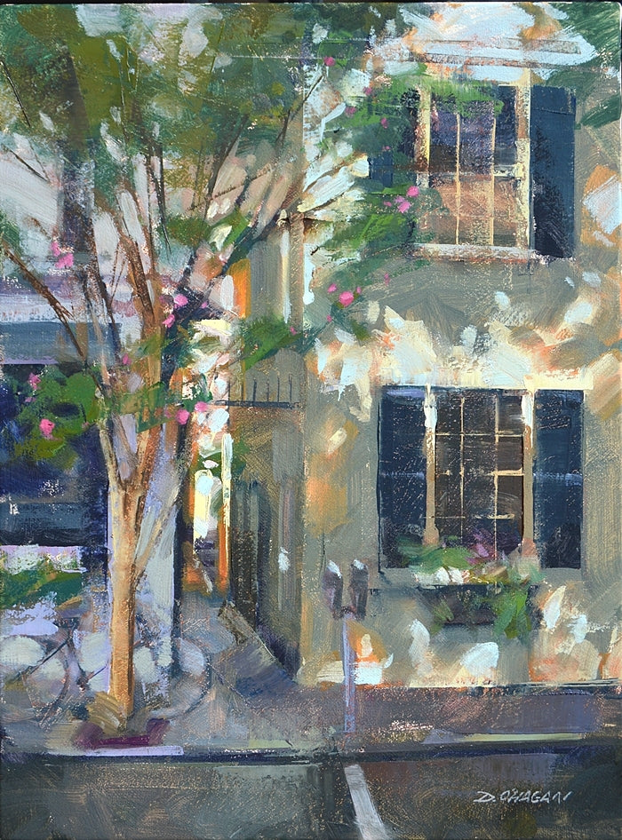 "*SOLD*""SHADOW PATTERNS, CHARLESTON"" BY DESMOND O'HAGAN"
