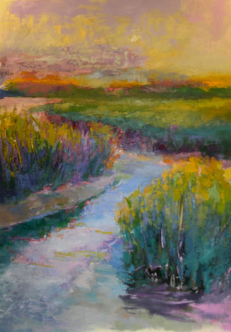 *SOLD*  'SHIMMERING GRASS' BY ANN WATCHER