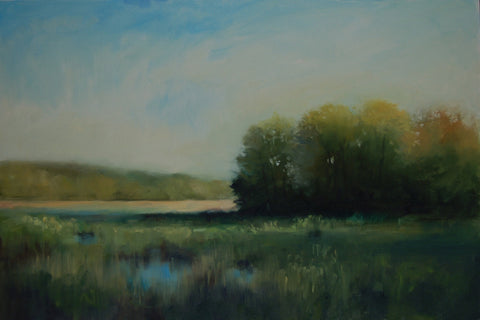 'SPRING EVENING' BY SUSAN GILKEY