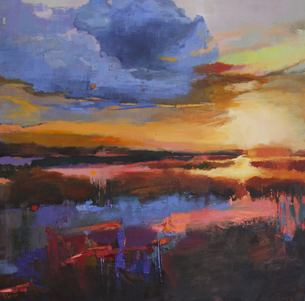 'ISLAND SUNSET' BY ANN WATCHER